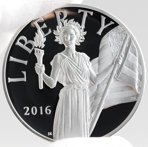 2016 American Liberty Silver Medal, Obverse -b