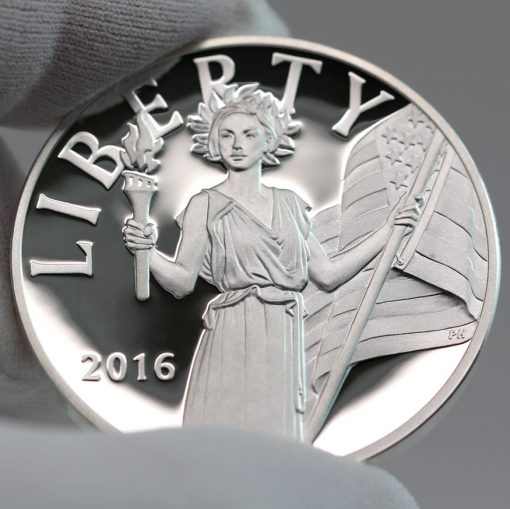 2016 American Liberty Silver Medal, Obverse -c
