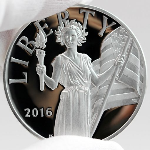 2016 American Liberty Silver Medal, Obverse -d