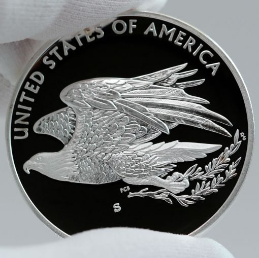 2016 American Liberty Silver Medal, Reverse