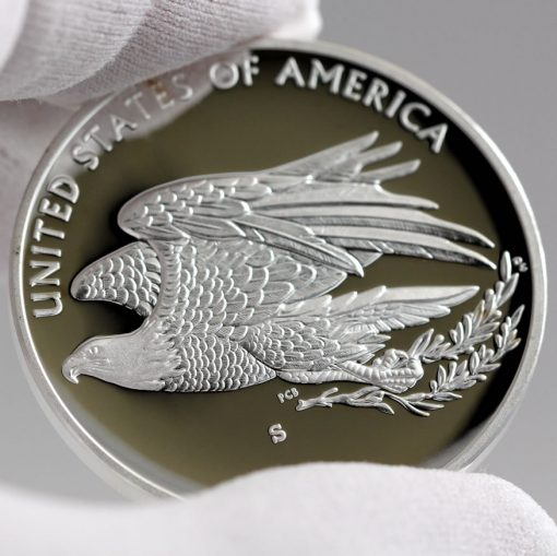 2016 American Liberty Silver Medal, Reverse -d