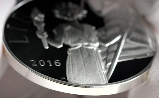 2016 American Liberty Silver Medal - Smooth Edge