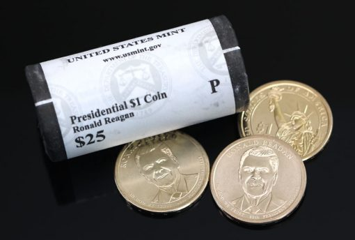 2016 Ronald Reagan Presidential Dollars and 25-Coin Roll