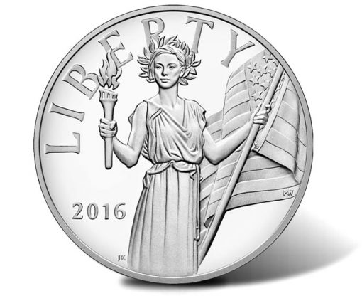 2016-W American Liberty Silver Medal - Obverse
