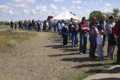 Line to get Theodore Roosevelt Quarter