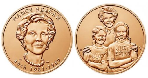 Nancy Reagan Bronze Medal