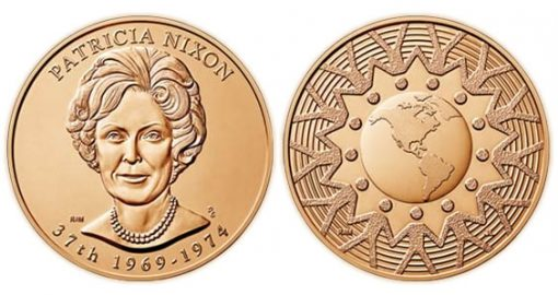Patricia Nixon Bronze Medal