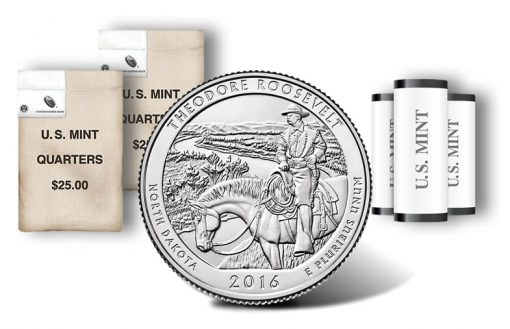 Theodore Roosevelt National Park quarters, rolls and bags