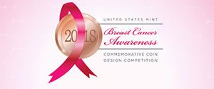 US Mint Breast Cancer coin design comp