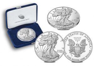 30th Anniversary 2016-W Proof American Silver Eagle
