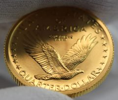 2016-W Standing Liberty Centennial Gold Coin - Edge and Rim, a