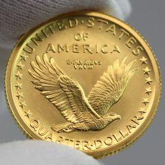 2016-W Standing Liberty Centennial Gold Coin - Reverse, b