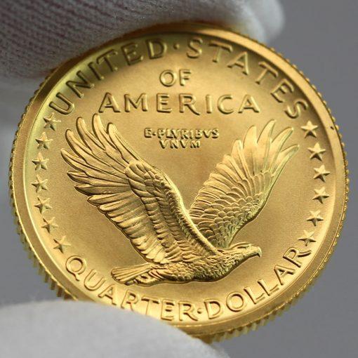 2016-W Standing Liberty Centennial Gold Coin - Reverse, c