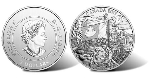 2017 $3 Spirit of Canada Silver Coin