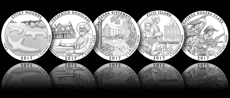 release dates for 2017 america the beautiful quarters
