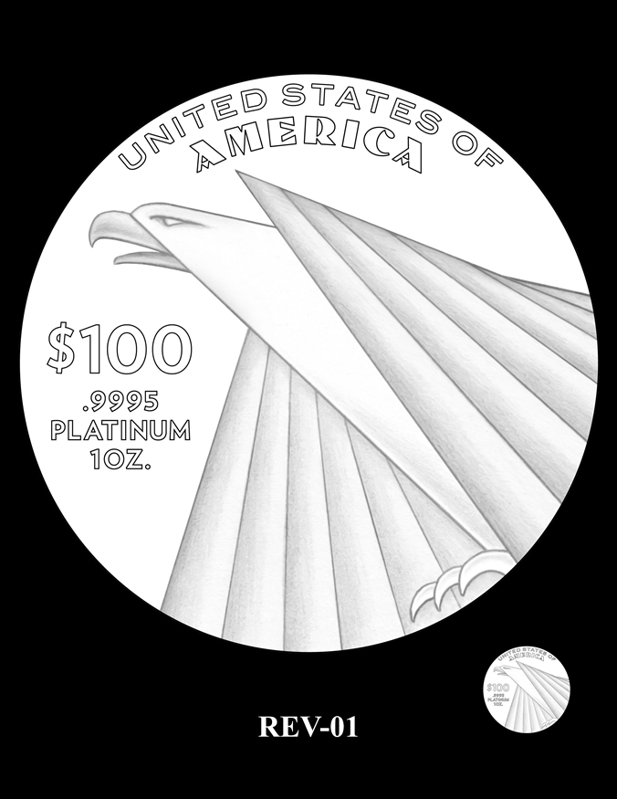 2018-2020 Proof American Platinum Eagle Candidate Designs | Coin News