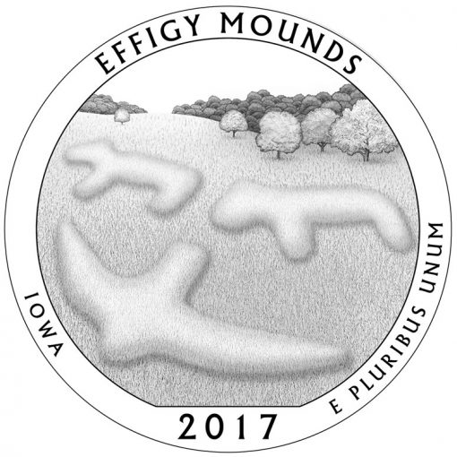 Effigy Mounds National Monument Quarter and Coin Design