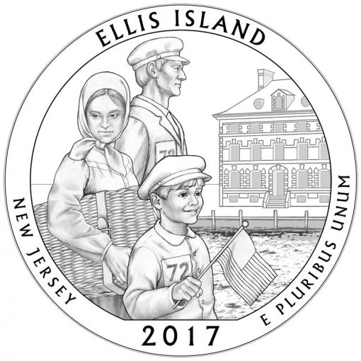 Ellis Island Quarter and Coin Design