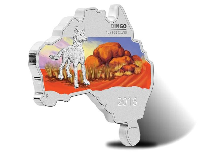 2016-1-dingo-australian-map-shaped-silver-coin