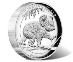 2016 Koala 1oz Silver High Relief Proof Coin