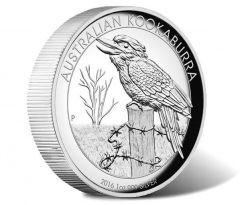 2016 Kookaburra 1oz Silver High Relief Proof Coin