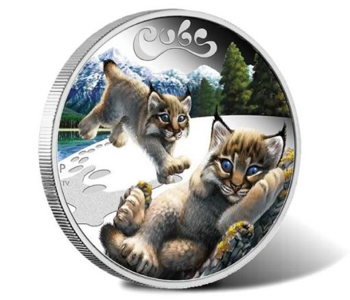 2016 Lynx Cubs 1/2 oz Silver Proof Coin