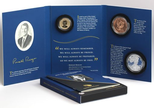 2016 Ronald Reagan Coin & Chronicles Set