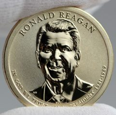 2016-S Reverse Proof Ronald Reagan Presidential $1 Coin - Obverse, c