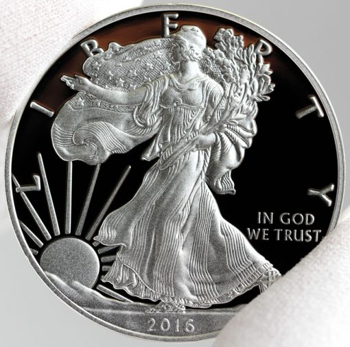 2016-W Proof American Silver Eagle, Obverse