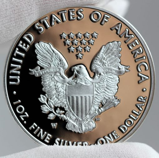2016-W Proof American Silver Eagle, Reverse