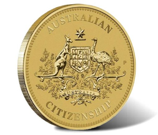2017 Australian Citizenship $1 Coin