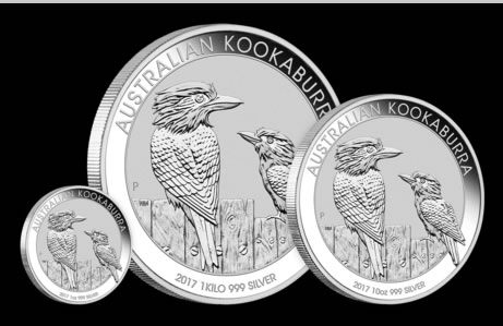 2017 Australian Kookaburra Silver Bullion Coins Released