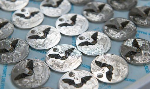 2016 €3 Fledermaus Coins