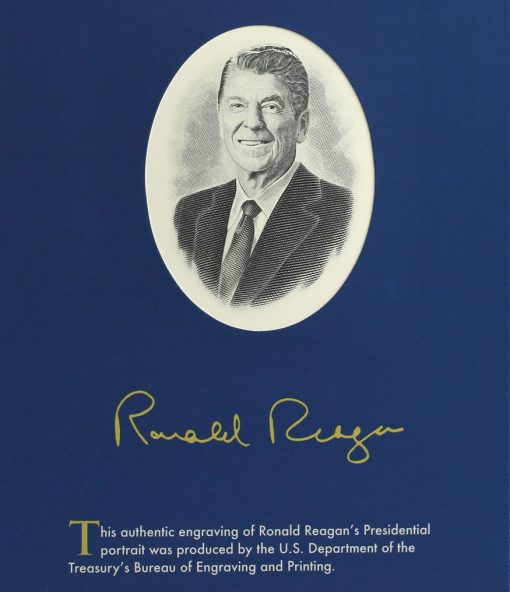 BEP engraved Ronald Reagan Presidential portrait