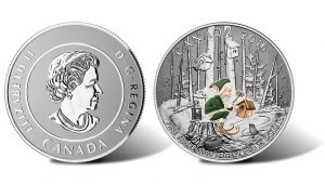 2016 $25 Woodland Elf Silver Coin for $25