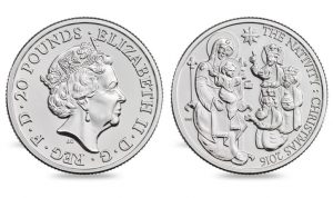 Royal Mint Releases First Christmas Coin