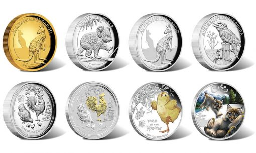 Perth Mint of Australian Collector Coins for November 2016