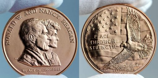 Ronald and Nancy Reagan Bronze Medal