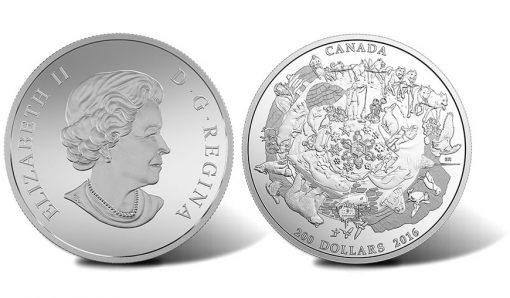 2016 $200 Canada's Icy Arctic 2 oz. Silver Coin