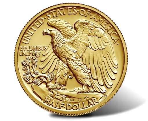 2016-W Walking Liberty Centennial Gold Coin - Reverse