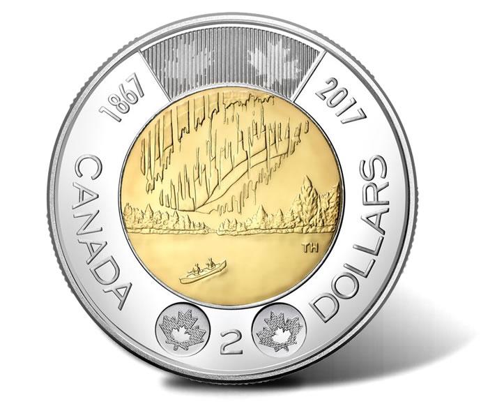 2017 2 Dollar Coin - Dance of the Spirits