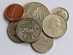 US Coins and Theodore Roosevelt quarters