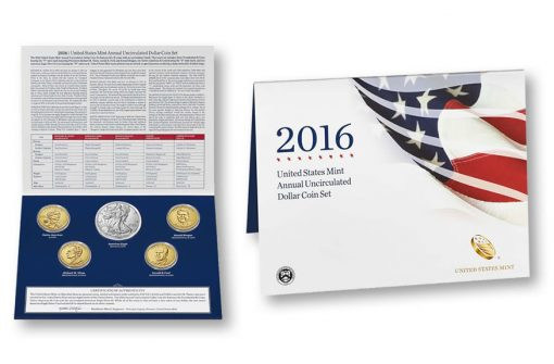 2016 Annual Uncirculated Dollar Coin Set