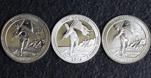 2016-D,S,P Fort Moultrie Quarters