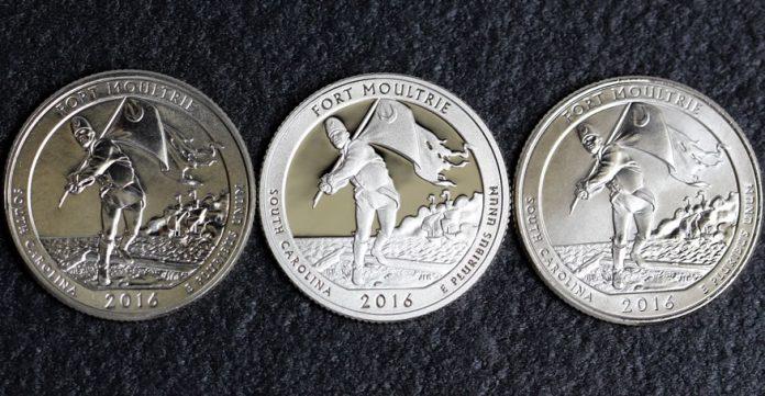 2016-D,S,P Fort Moultrie Quarters
