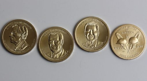 2016 Nixon, Ford, Reagan, Native American Dollar
