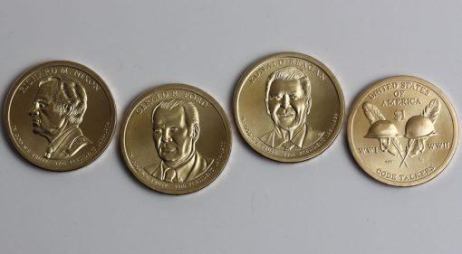 2016 Nixon, Ford, Reagan, Native American Dollar