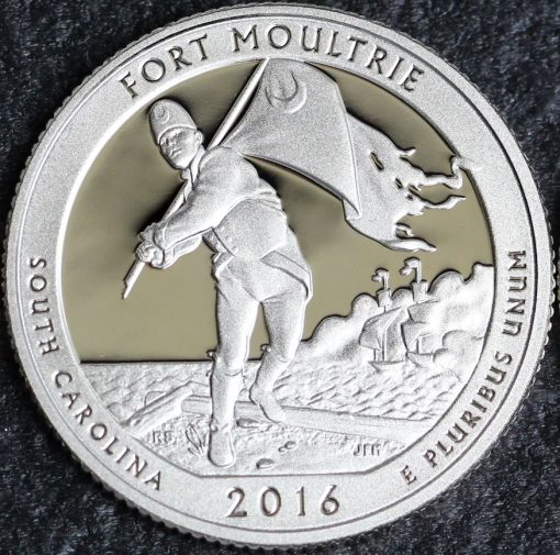 2016-S Proof Fort Moultrie Quarter