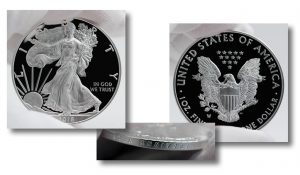 2016-W 30th Anniversary Proof American Silver Eagle - Sides and Edge