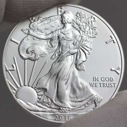 2016-W 30th Anniversary Uncirculated American Silver Eagle - Obverse, a